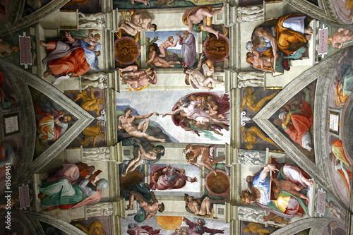 Fotografie, Obraz  chapelle sixtine