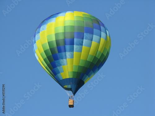 In de dag Ballon balloon blue green