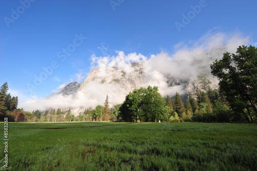 In de dag Temple Yosemite