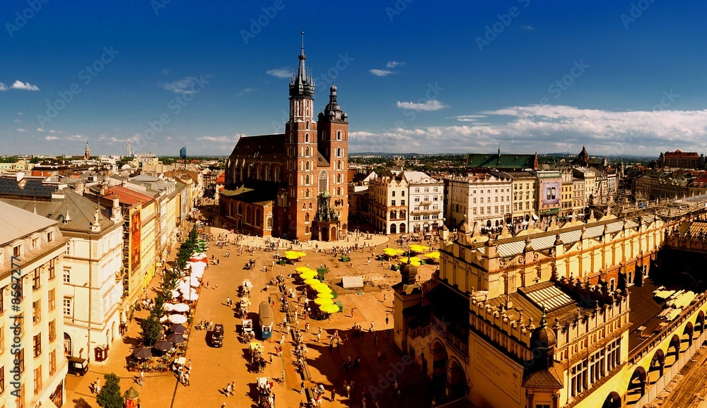 Fototapety, obrazy: Cracow Main Market Square