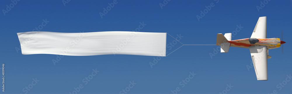 Fototapeta Aerial Advertising