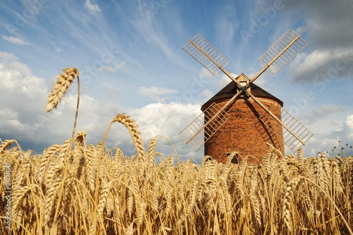 Photographie Windmill in Chvalkovice (Czech Republic)