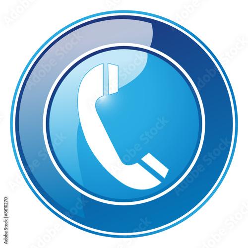 Obraz Telefon - Button - fototapety do salonu