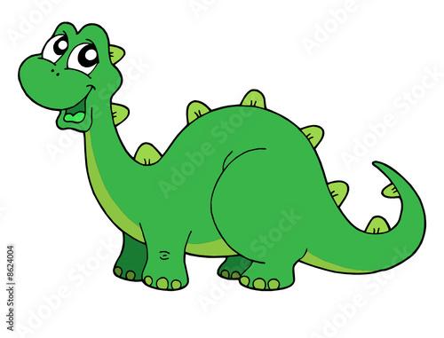 Tuinposter Dinosaurs Cute dinosaur