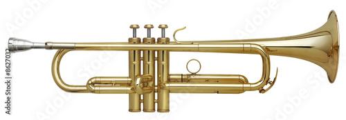 Brass Trumpet Fototapeta