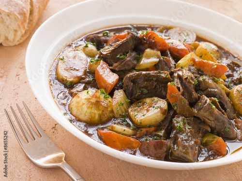 Fotografie, Obraz  Rabo de Toro- Boneless Oxtail and Potato Stew