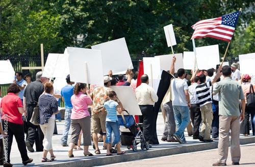 Fototapeta Protest obraz