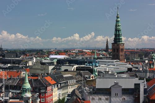 Photo  Overview of houses, Copenhagen, Denmark