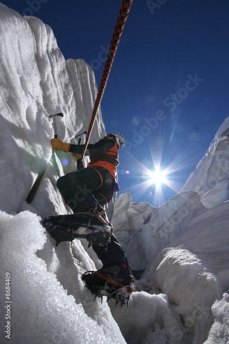 alpiniste Wallpaper Mural