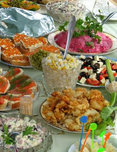 Russian celebratory feast