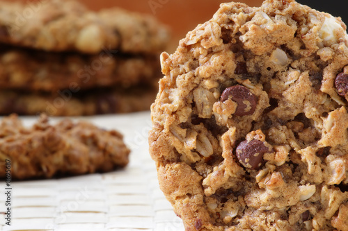 Biscuit Chocolate chip macadamia cookie