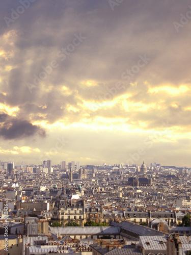 Canvas Prints Historical buildings Paris