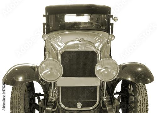 Ancient car.