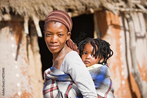 Obraz Afrykańska rodzina - fototapety do salonu