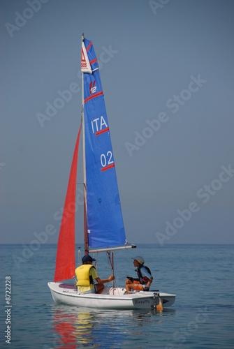 Poster Zeilen sports nautiques