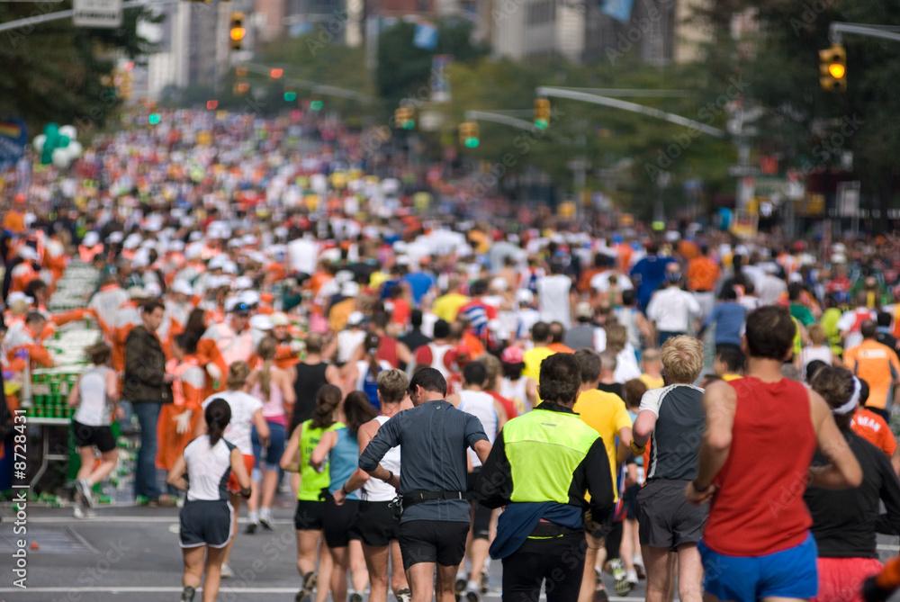 Fototapety, obrazy: New York City Marathon