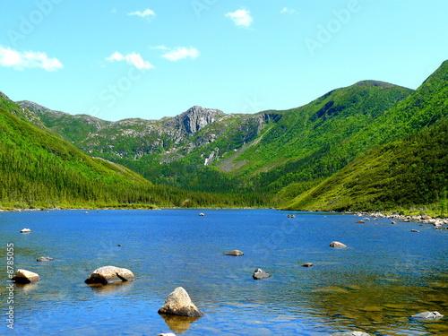Photo sur Toile Bleu clair Lac au Canada