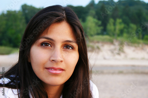 Fototapety, obrazy: Attractive Young Woman Outdoor Portraita
