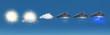 Leinwandbild Motiv météo horizon