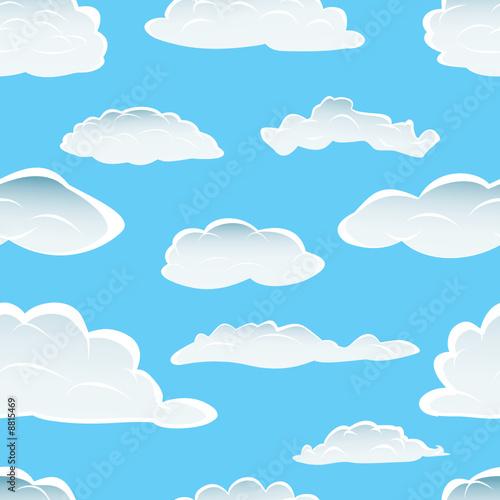 Papiers peints Ciel clouds seamless background