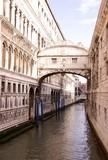 The bridge of sights in Venice, Italy