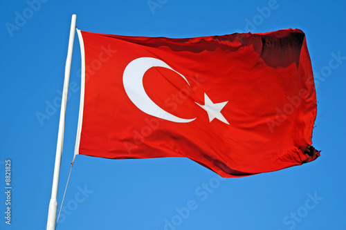 Turkish flag Wallpaper Mural