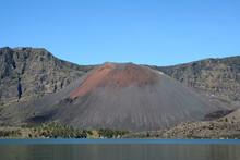 Cône Volcanique Du Gunung Baru