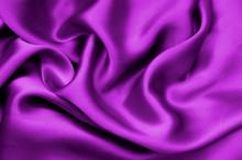 Purple Satin Textile Background