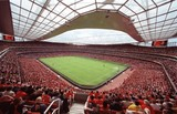 Fototapeta Londyn - Emirates Football Stadium View