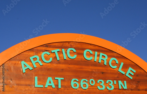 cercle arctique, arctic circle