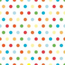Polka Dots Background Pattern ...