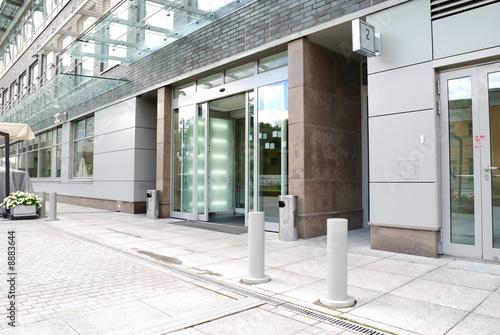 Fototapeta Modrn office entrance