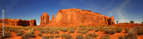 Valokuvatapetti Panoramic View in Monument Valley, Navajo Nation, Arizona