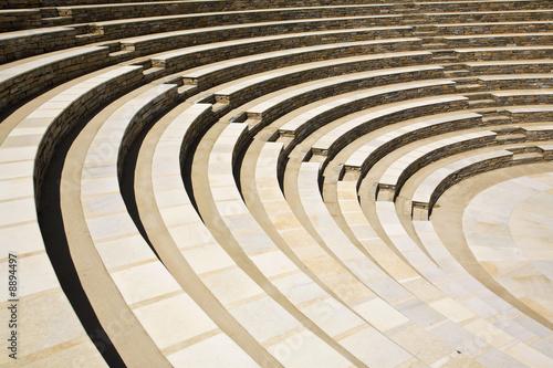 Canvas Prints Bridge Amphitheater Seats