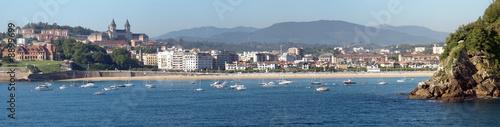 Fotografia Panorama de la baie de Donostia San Sebastian en Espagne