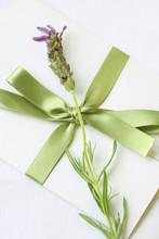 Sealed Letter With Lavender De...