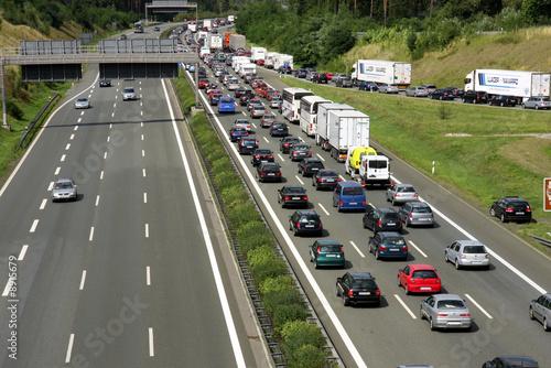 Foto  Autobahnalltag