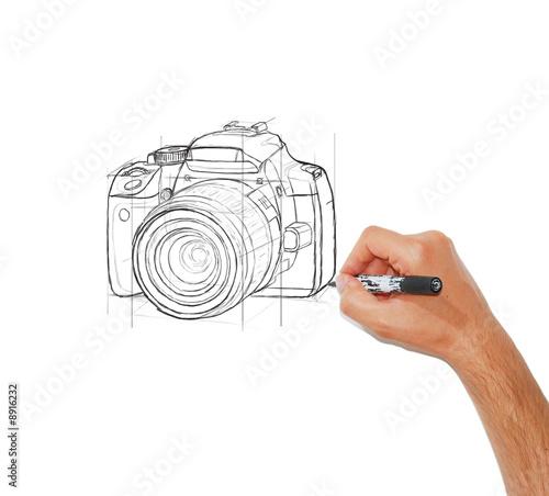 Dessin D Un Appareil Photo Reflexe Buy This Stock Photo And