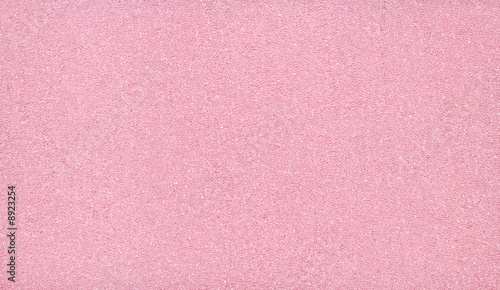Pink synthetic adsorbent sponge used for insulation Canvas Print
