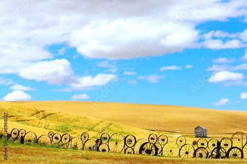 canvas print motiv - JEANNE : Old Countryside Landscape