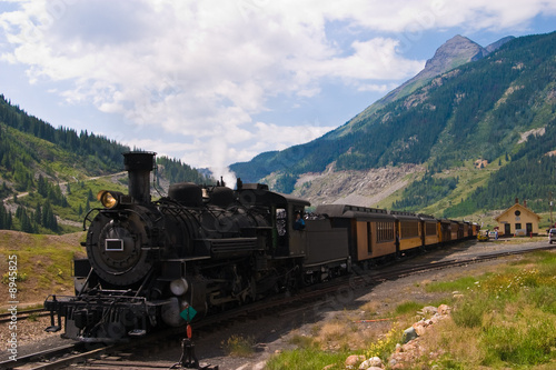 Fotografie, Obraz  Mountain Train