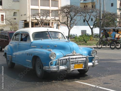 Türaufkleber Autos aus Kuba Voiture américaine