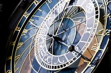 Old Clock In Prague Czech Republic