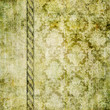 canvas print picture green vintage wallpaer