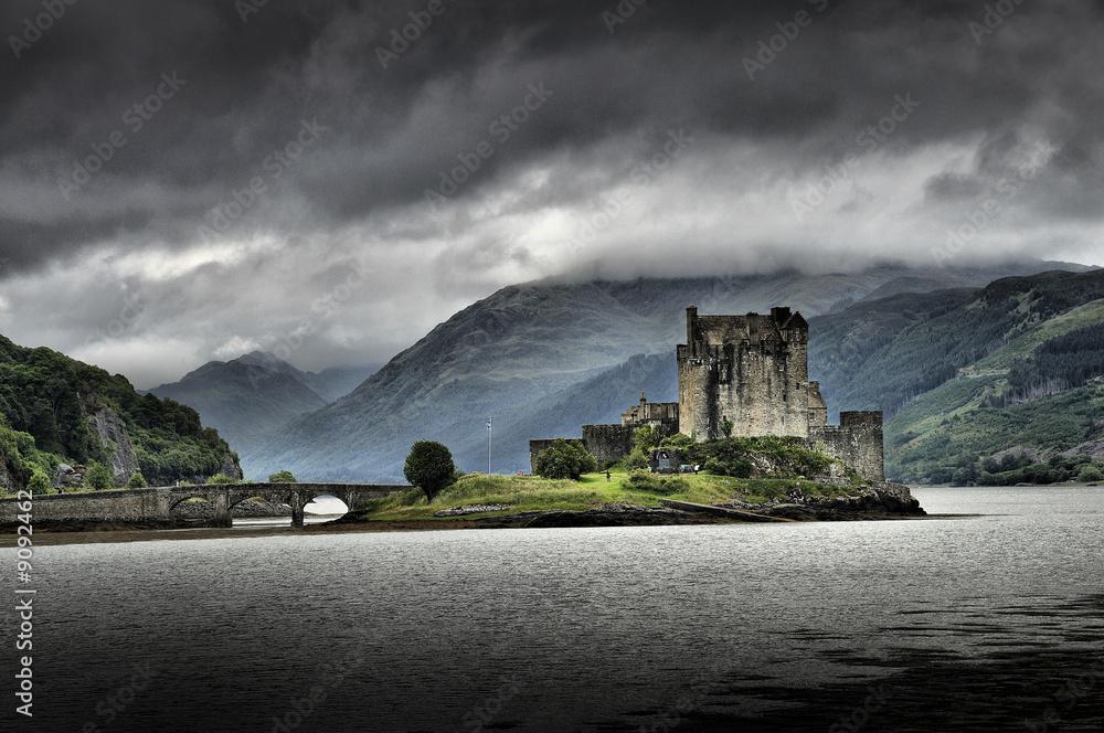 Fototapeta Anciet Castle