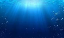 Underwater, Water, Bubble, Bot...