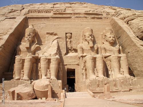 Poster Egypte Abu Simbel