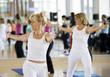 Leinwanddruck Bild - women's workout
