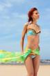 beautyful girl on the beach