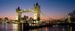 Leinwandbild Motiv Tower Bridge Panorama